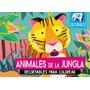Animales De La Jungla. Recortables 3d - Natasha Durley | ISADORA LIBROS