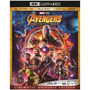 Avengers Infinity War - 4k + Blu-ray + Digital Hd - Original | DVDSERIESURUGUAY