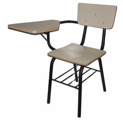 Silla con pupitre y parrilla colegio universidad academia - Como forrar una silla de escritorio ...
